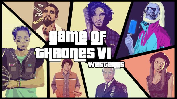 Game of Thrones - Retro GTA Style by EpicManPhilip