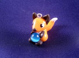 Cat Eye Fox Charm by SophieXSmith