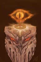 Sauron and The Ring of Power by megaluka