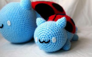 Baby Catbug by kaelby