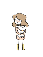puppycat. by rainyskirt