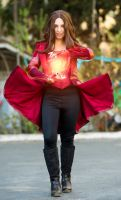 Scarlet Witch Cosplay by LenaMay-Cosplay
