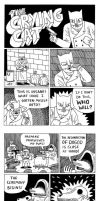 The Crying Cat comic by Teagle