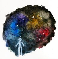 The Wonder of Space by ShittyWatercolour