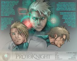 Concept - Protoknight, Character Profile by AenTheArtist