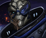 Garrus Vakarian by lombaxesdimension