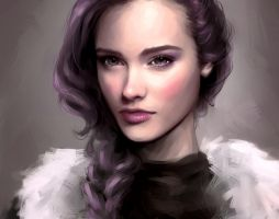 Violet by roerow