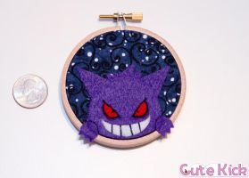 Tiny Gengar Hoop by cutekick