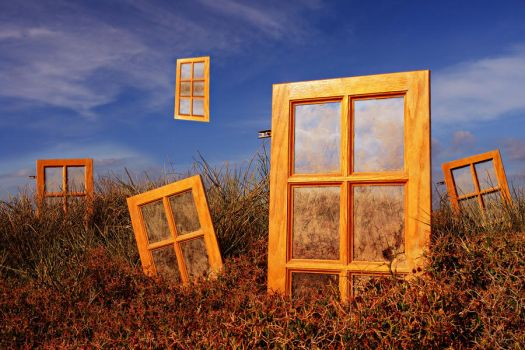 Universes Windows by ahermin