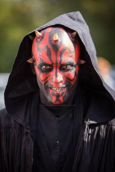 Darth Maul makeup for le salon des geek by made-me-a-monster
