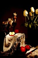 Still Life with Horse, Apples by leonardsetiawan