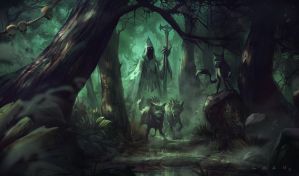 D's Forest by EsbenLash