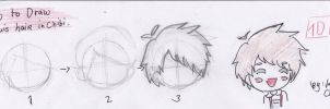 how to draw louis hair in chibi (tutorial) by jaimie07