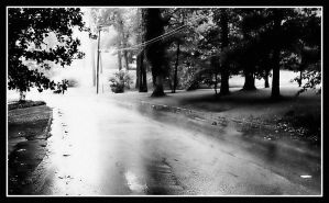Rainy Road by GeneAut