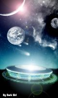 Space Stadium by Angel-Ray