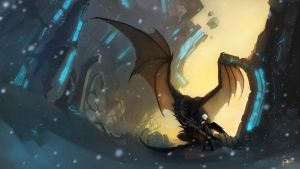 Malro and Shadow by Orphen-Sirius
