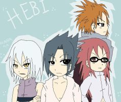 Naruto :: Team Hebi by sasukee23loveeer