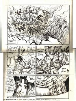 Old scan Earth of LOVE random page by K-hermann