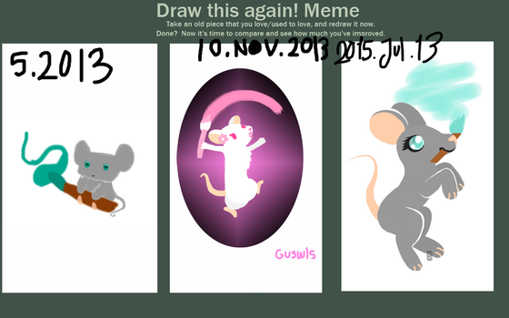 Draw This Again Meme by Guswls