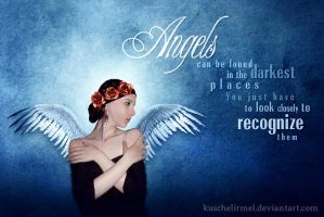Christmas Card - Angels by kuschelirmel