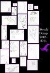 Sketch Dump 2012-2014 by LuciferDragon