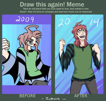 Draw it Again Meme - Bat by Zubious