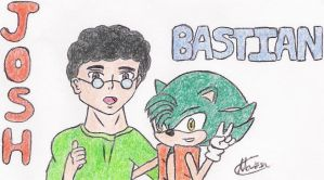 Josh and Bastian by NestTheEchidna