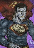 Bizarro -Superman- PSC by silentsketcher