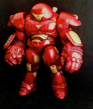 CUSTOM MARVEL SELECT HULKBUSTER IRON MAN by RedRebelCustoms