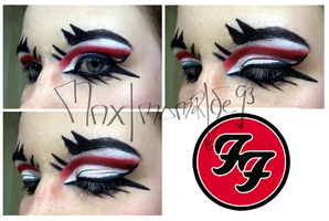 Foo Fighters Makeup by MaximumRide93