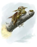 Goblin Rocketeer by ScottPurdy