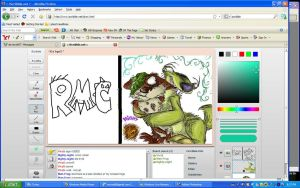Screen shot iscribble Funs by VivzMind
