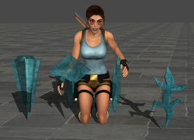 The fragements of meteor - TR3 by tombraider4ever