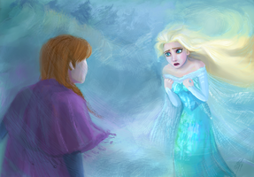 I can't stop a winter - Frozen by DreamyArtistRoxy3