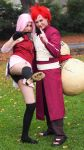 Sakura and Gaara by MFM-Photography