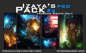 Izaya's PSD Pack #2 (150 Watchers + 4000 views) by TheIzaya