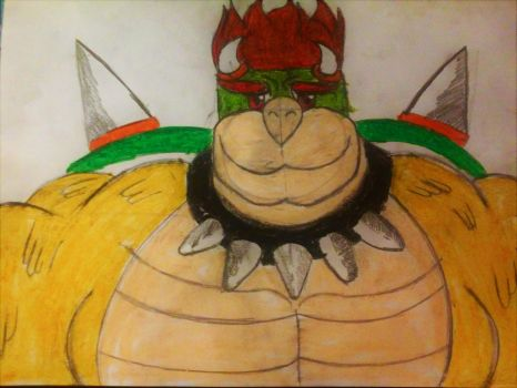 Bowser by wolfdragonblood