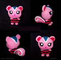 Animal Crossing: Peanut Plush by RetroRodent