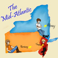 The Mid-Atlantic States by Jersey-Gardens