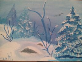 Winter blues I by Wingreader