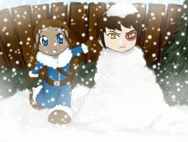 Zuzu the Snowman by Nutty-Neko