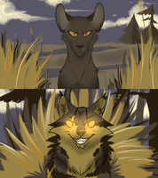 The Valley - ShadowClan Leaders by Quailheart