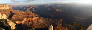 Sunrise At The Grand Canyon 2 by arclance