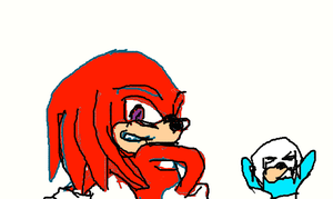 Knuckles and Croso by Jelaniwatts1
