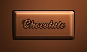 Free Psd Chocolate Text Effect by Pixeden