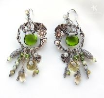 Spring grove earrings by JSjewelry