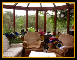 Sunroom without Golden Sunbeam by Coccis