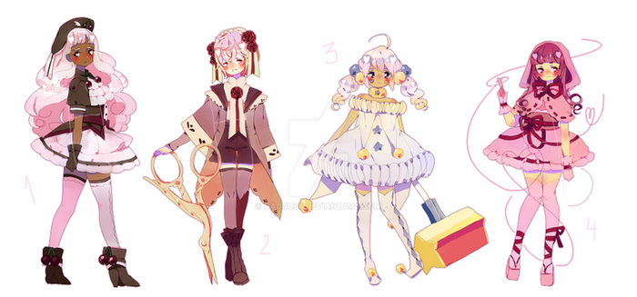 Magical Boys and Girls Adopts (CLOSED) by Hacuubii