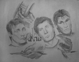 A-ha fanart by SaviourMachine