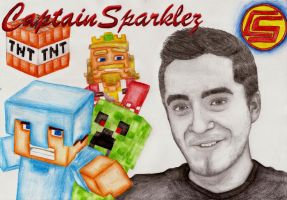 CaptainSparklez! by IchBinJayne